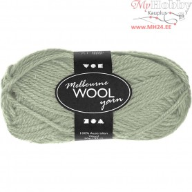 Melbourne Yarn, L: 92 m, light green, 50g
