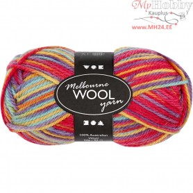 Melbourne Yarn, L: 92 m, multi colour harmony, 50g