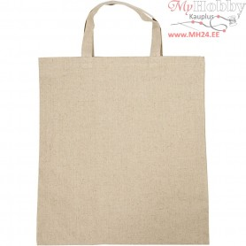 Shopping Bag, size 38x42 cm, natural, 1pc
