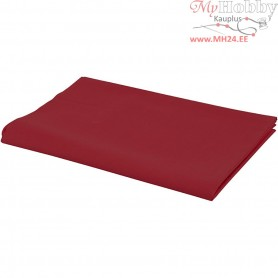 Fabric, W: 145 cm,  140 g/m2, red, 1rm