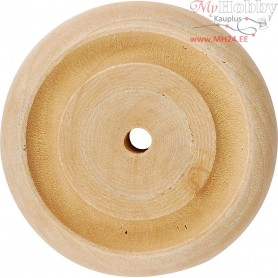 Wheel, D: 42x11 mm, thickness 11 mm, china berry, 40pcs, hole size 3 mm