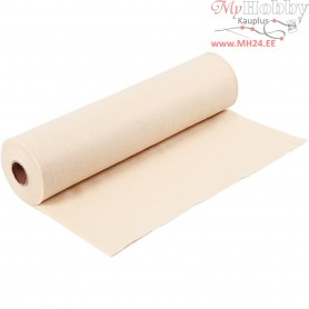 Craft Felt, W: 45 cm, thickness 1,5 mm, light skin colour, 5m, 180-200 g/m2