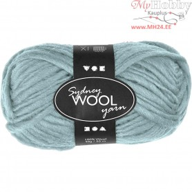 Sydney Yarn, L: 50 m, mint green, 50g