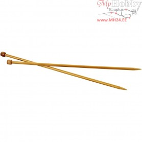 Knitting Needles, size 7 , L: 35 cm, 1pair