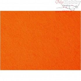 Craft Felt, sheet 42x60 cm, thickness 3 mm, orange, 1sheet