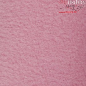 Fleece, L: 125 cm, W: 150 cm, light pink, 1pc, 200 g/m2