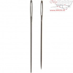 Cross Stitch Needles, L: 50 mm, size 18 , with blunt and sharp tip, 25ass.