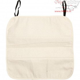 Cotton Seat Cover, size 36x36x1 cm, natural, 1pc