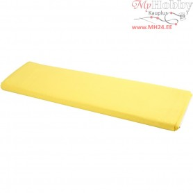 Fabric, W: 145 cm,  140 g/m2, yellow, 10m