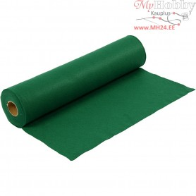 Craft Felt, W: 45 cm, thickness 1,5 mm, green, 5m, 180-200 g/m2