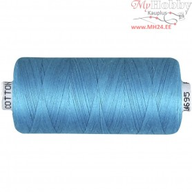 Sewing Thread, petrol, cotton, 1000m