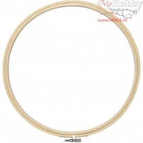 Embroidery Frame, D: 25 cm, 1pc