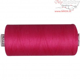 Sewing Thread, pink, cotton, 1x1000m