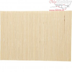 Bamboo Mat for Felt Making, size 45x30 cm, 4pcs