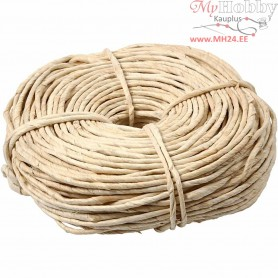 Maize string, W: 3,5-4 mm, approx. 90 m, natural, 500g