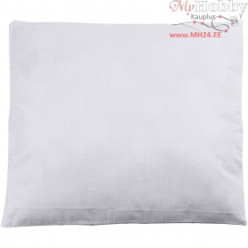 Stuffed Pillow, size 40x40 cm, white, 250 g polyester stuffing, 1pc