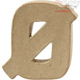 Letter, ?, H: 10 cm, thickness 2 cm, 1pc