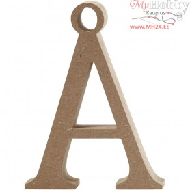 Letter, Ć…, H: 15.5 cm, thickness 2 cm, MDF, 1pc