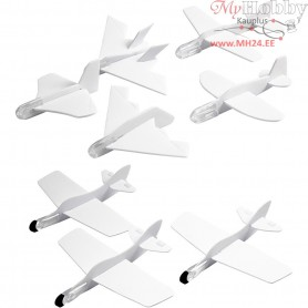 Airplane, L: 8-10 cm, W: 8-10 cm, 72pcs