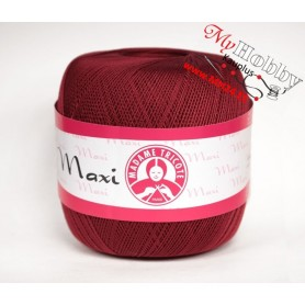 Cotton Yarn Madame Tricote / Maxi 100 - Colour 5527 (Cherry Red)