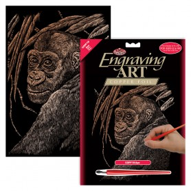 Ape Engraving Art Kit Standard - Royal Brush - Copper Foil 20.3x25.4cm (COPF18)