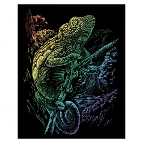 Chameleon Engraving Art Kit Standard - Royal Brush - Rainbow Foil 20.3x25.4cm (RAIN16)
