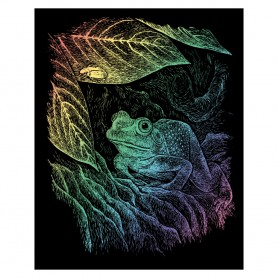 Frog Engraving Art Kit Standard - Royal Brush - Rainbow Foil 20.3x25.4cm (RAIN15)