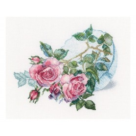 "RTO Cross-stitch kits ""Tender flower buds"", Article: M808"