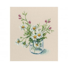 """RTO Cross-stitch kit """"Warm peace of the bloomy summer"""", Article: M773"""
