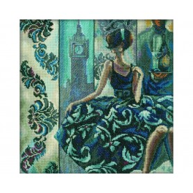 """RTO Cross-Stitch Kit """"Time for reflection"""", Article: M235"""