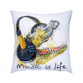 """RTO Cross-stitch kits with printed background """"Music is life"""", Article: DT-M019"""