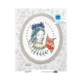 "RTO Cross-stitch kit ""Talking to the forest"", Article: M727"