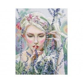 """RTO Cross-stitch kit """"Listening to the silence"""", Article: M726"""