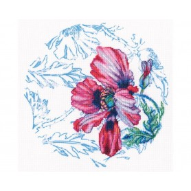 """RTO Cross-stitch kits with printed background """"Scottish water colours"""", Article: M70039"""