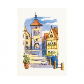 """RTO Cross-stitch kits with printed background """"Paint by Threads"""", Article: DT-M008"""