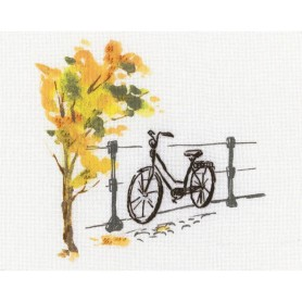 """RTO Cross-stitch kits with printed background """"Paint by Threads"""", Article: DT-C002"""
