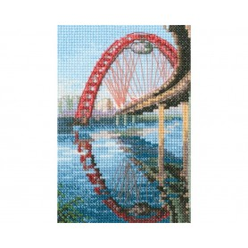 "RTO Cross-stitch kit ""Picturesque bridge"", Article: C310"