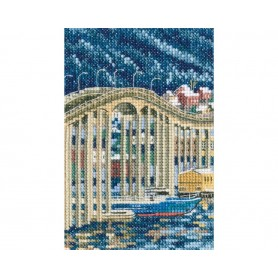 "RTO Cross-stitch kit ""Tasman bridge"", Article: C308"