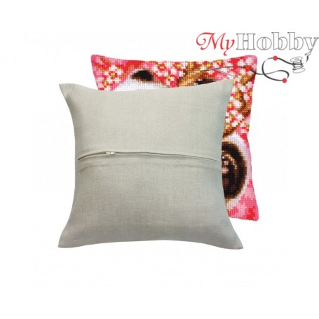 Cross Stitch Cushion Kit Cushion Finishing Kit, Article: 5 999 Collection D'Art - size 44x47 cm.