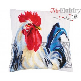 Cross Stitch Cushion Kit Spanish handsome, Article: 5 253 Collection D'Art - size 40x40 cm.