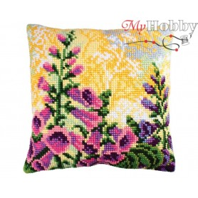 Cross Stitch Cushion Kit Lupin Dream 2, Article: 5 189 Collection D'Art - size 40x40 cm.