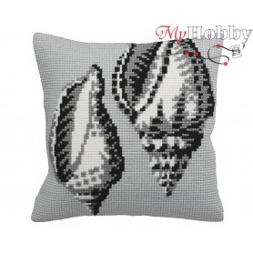 Cross Stitch Cushion Kit Graphic, Article: 5 144 Collection D'Art - size 40x40 cm.