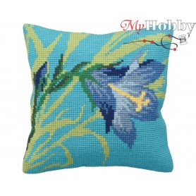 Cross Stitch Cushion Kit Shadows, Article: 5 139 Collection D'Art - size 40x40 cm.