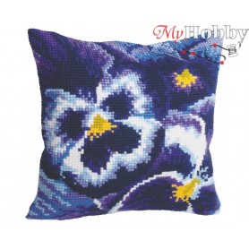 Cross Stitch Cushion Kit Evening Mists, Article: 5 099 Collection D'Art - size 40x40 cm.