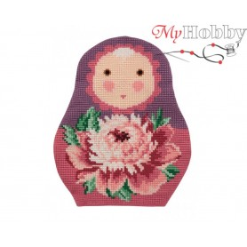 Cross Stitch Cushion Kit Honey Bun, Article: 5 041 Collection D'Art - size 49,5x43 cm.