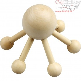 Massage Spider, H: 10 cm, W: 13 cm, 1pc