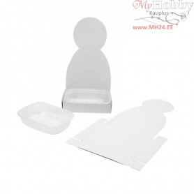 Figure Shaped Cress Tray, body, H: 20 cm, 6sets