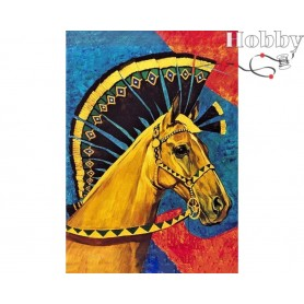 Diamond Embroidery Painting Kit Gamil, Article: DE069 Collection D'Art - size 27x38 cm.