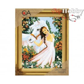 Cross Stitch Kit Stamped Full Range of Embroidery Kits   Collection D'Art - 6036K