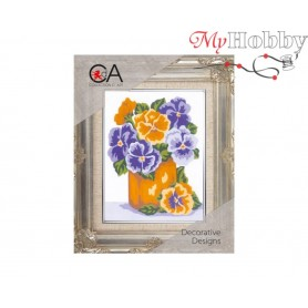Cross Stitch Kit Stamped Full Range of Embroidery Kits   Collection D'Art - 3232K